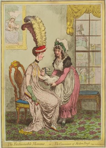 The Fashionable Mama or the Convenience of Modern Dross New York Public Library