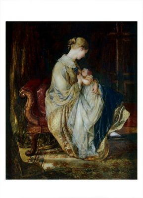 The Young Mother by Charles West Cope Great Britain 1845 Victorian and Albert Museum