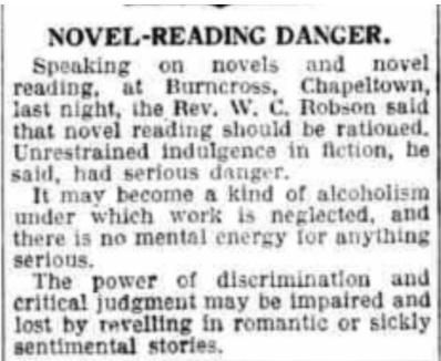 novels danger